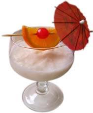 Umbrella Drinks Or Ice Cream Drinks